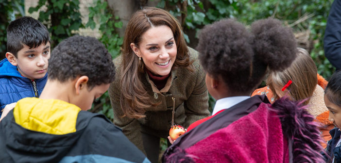 HRH The Duchess of Cambridge & Landscape Architects Davies White to Design the RHS's Garden at the 2019 RHS Chelsea Flower Show