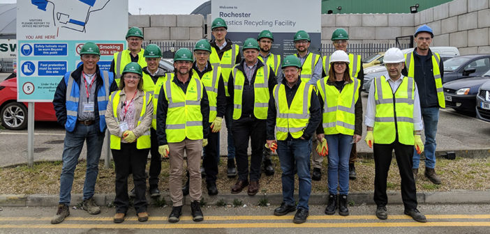 Nursery working group visits plastics recycling centre